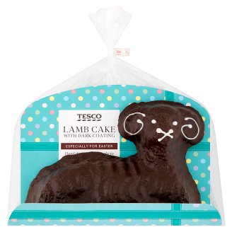 Tesco Lamb Cake with Dark Coating 400g