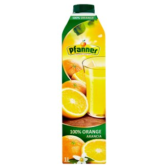 Pfanner 100% Orange Juice 1L