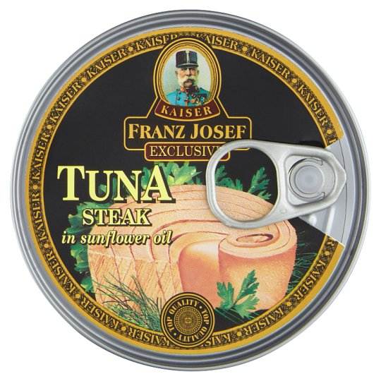 Kaiser Franz Josef Exclusive Tuna Steak in Sunflower Oil 170g