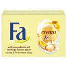 Fa krémové mýdlo Cream & Oil Macadamia 90g