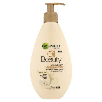 Garnier Body Oil Beauty vyživující olejové tělové mléko 250ml