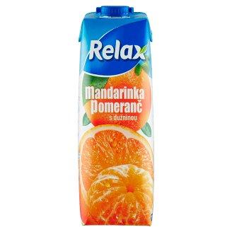 Relax Mandarinka pomeranč s dužninou 1l