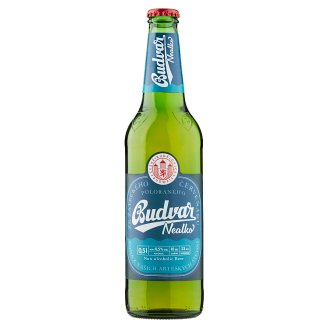 Budweiser Budvar B:Free Non-Alcoholic Beer 0.5L