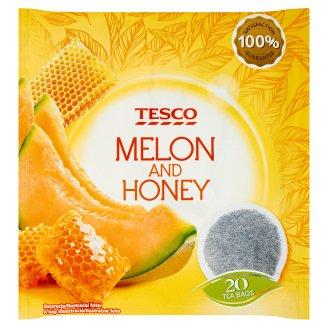 Tesco Ovocný čaj s příchutí melounu a medu 20 x 2g