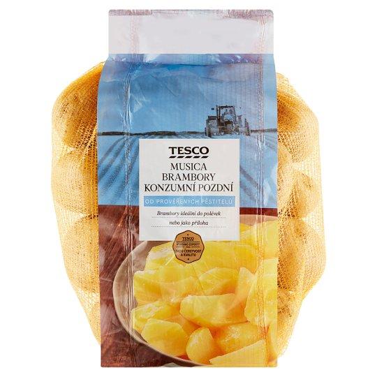 Tesco Musica brambory konzumní pozdní 2,5kg