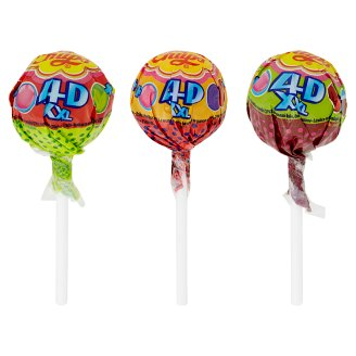 Chupa Chups XXL 4D Drops with Gum Inside Different Flavours 29g