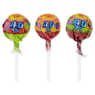 Chupa Chups XXL 4D Drops se žvýkačkou uvnitř různé příchutě 29g