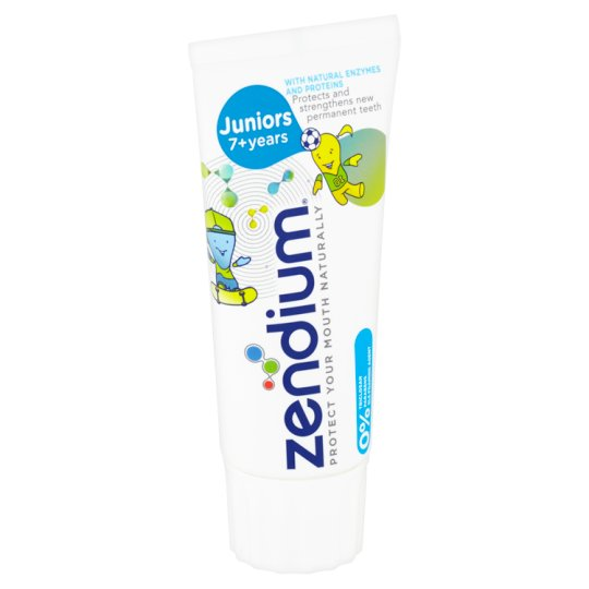 Zendium Juniors 7+ Toothpaste for Kids 50ml