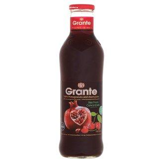 Grante 100% ovocná šťáva z granátových jableka třešní 750ml