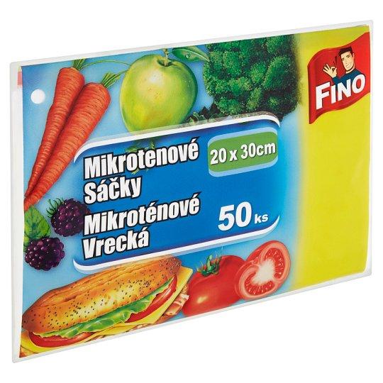 Fino Mikrotenové sáčky 20x30cm 50 ks