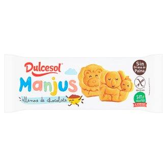 Dulcesol Manjus piškot s čokoládovou náplní 180g