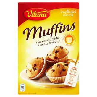 Vitana Inspirující Kuchyně Muffins s vanilkovou příchutí a kousky čokolády 280g
