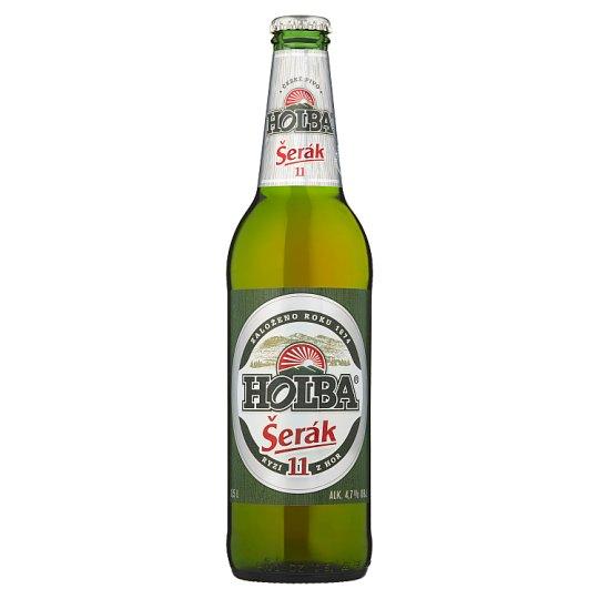 Holba Šerák Beer Light lager 0.5L