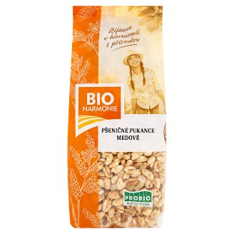 Bio Harmonie Puffed Wheat with Honey 100g