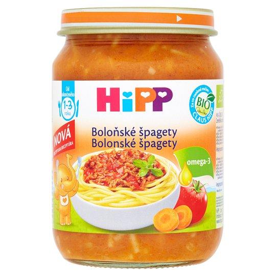 HiPP Bio boloňské špagety 250g