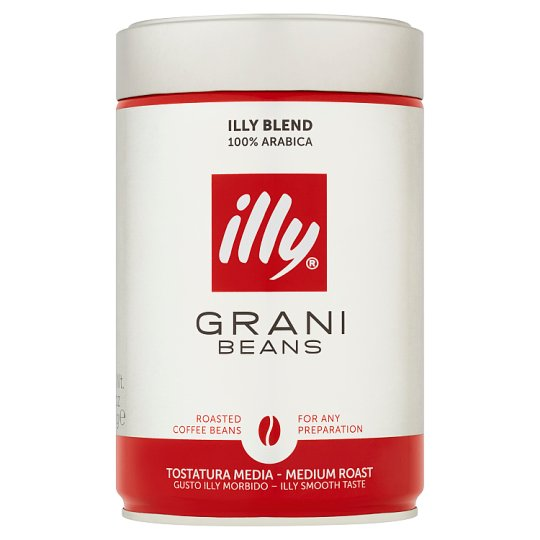 Illy Grani Beans Roasted Coffee Beans 250g