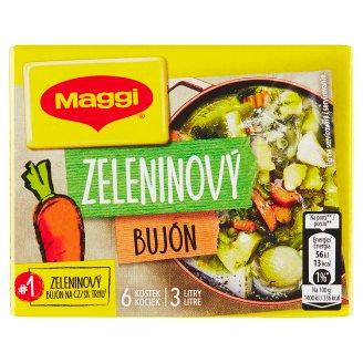 MAGGI Zeleninový bujón v kostce 3l 6 x 10g