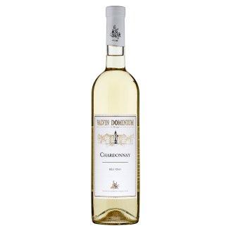 Valvin Dominium Chardonnay bílé víno suché 0,75l