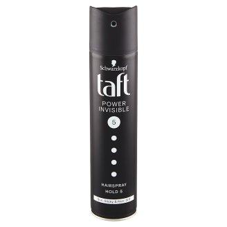 Taft Invisible Power lak na vlasy Mega Strong 5 250ml