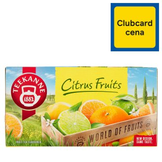 TEEKANNE Citrus Fruits, World of Fruits, 20 sáčků, 45g