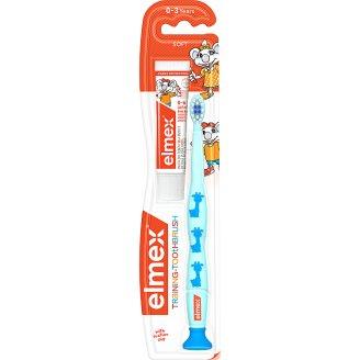 elmex Měkký zubní kartáček + dětská zubní pasta 12ml