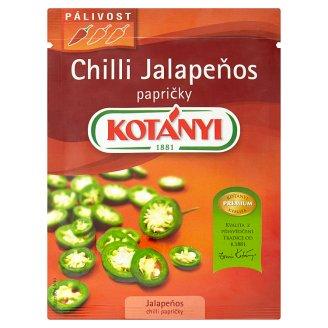 Kotányi Chilli Jalapeňos krájené 8g