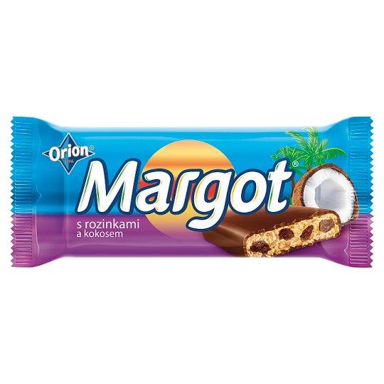 ORION Margot Tyčinka s kokosem a rozinkami 90g