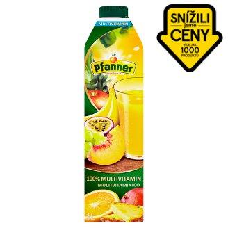 Pfanner 100% multivitaminová ovocná šťáva z několika druhů ovoce 1l