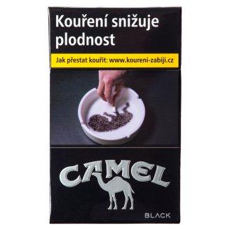 Camel Black cigarety s filtrem 20 ks