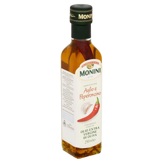 Monini Dressing with Extra Virgin Olive Oil with Chilli and Garlic 250ml