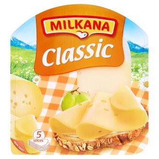Milkana Classic Plnotučný zrající sýr plátky 100g