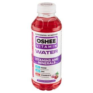 Oshee Vitamin Water nesycený nápoj s příchutí červeného hroznového vína a dragon fruit 555ml