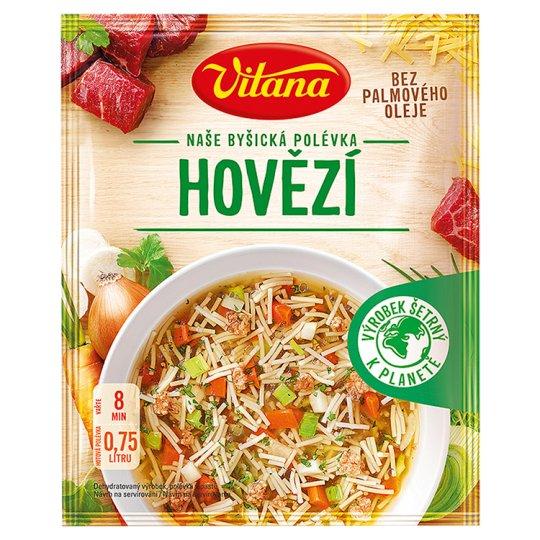 Vitana Naše Byšická polévka Hovězí 60g
