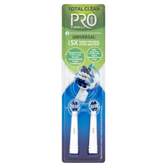 Tesco Pro Formula Replacement Head for Eletric Toothbrush Total Clean 2 pcs