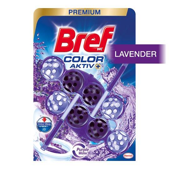 Bref Color Aktiv Lavender tuhý WC blok 2 x 50g