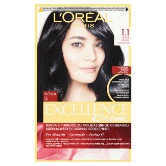 L'Oréal Paris Excellence Creme temně černá 1.1