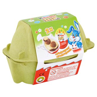 Kinder Joy Wafer Balls Sprinkled with Cocoa in Milk and Milk-Cream - with a surprise 2 x 20g