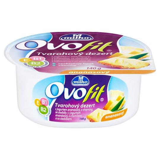 Milko Ovofit Pineapple Curd Dessert 140g