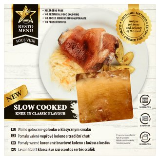 Resto Menu Sous Vide Slow Cooked Knee in Classic Flavour