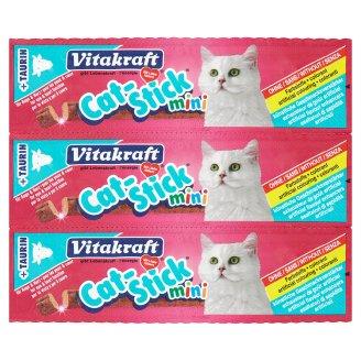 Vitakraft Cat-Stick mini hovězí a taurin pro kočky 3 ks