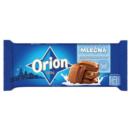 ORION Mléčná čokoláda 100g