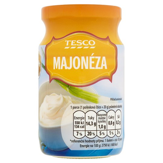 Tesco Mayonnaise 215g