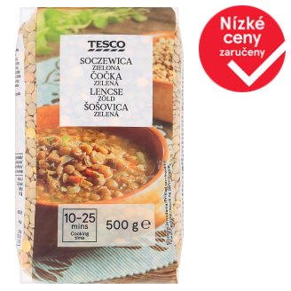 Tesco Green Lentils 500g
