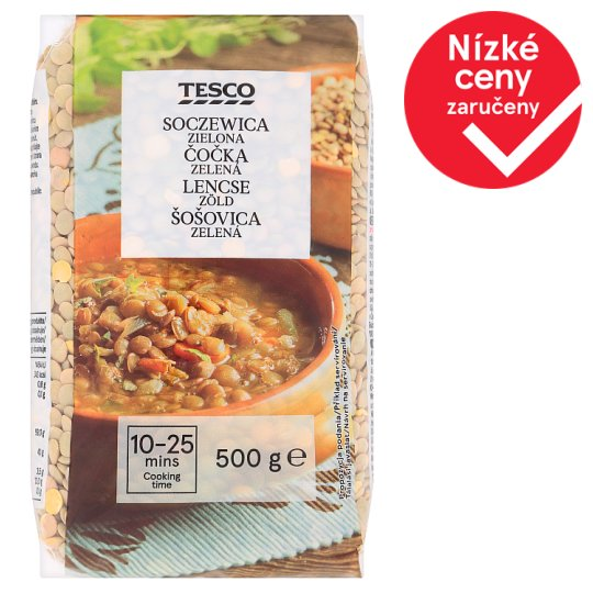 Tesco Green Lentils 500g