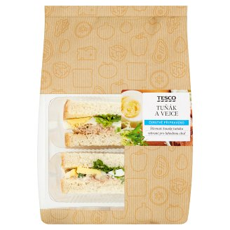 Tesco Sandwich Tuna and Eggs 157g