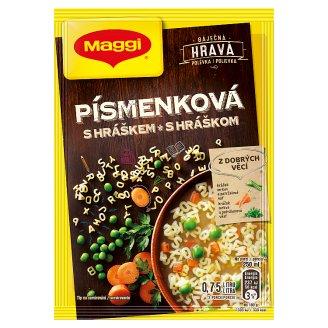 MAGGI Hravá Písmenková polévka s hráškem sáček 51g