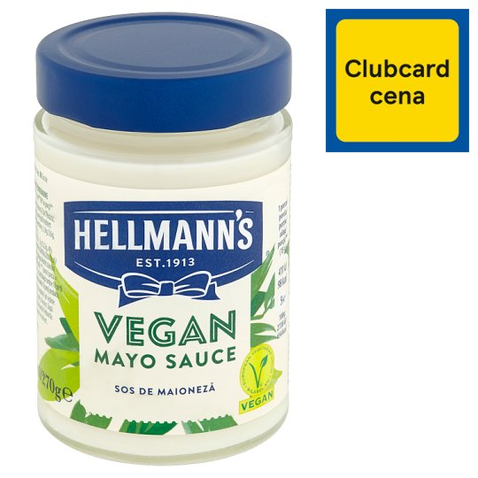 Hellmann's Vegan Cold Egg Free Sauce 280ml