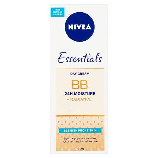 Nivea Essentials BB Day Cream Blemish Prone Skin 50ml