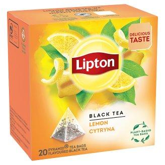 Lipton Černý aromatizovaný čaj Lemon 20 sáčků