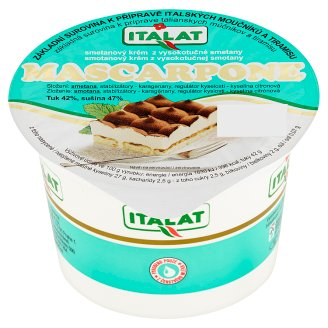 Italy Mascarpone Cream of High-Fat Cream 200g